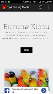 Tips Burung Mania - náhled