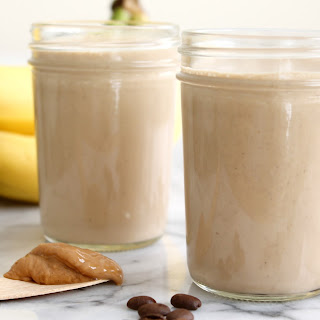 Banana Coffee Cashew Smoothie