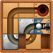 Roll the Ball: Slide Puzzle Unlock Wood Block Game icon