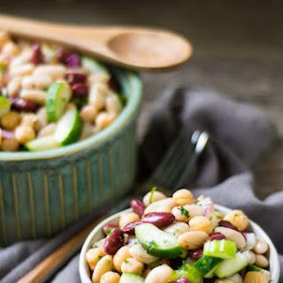 Three Bean Protein Summer Salad Recipe