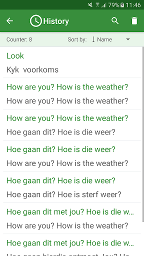 Afrikaans - English Translator 4.4.0 screenshots 4