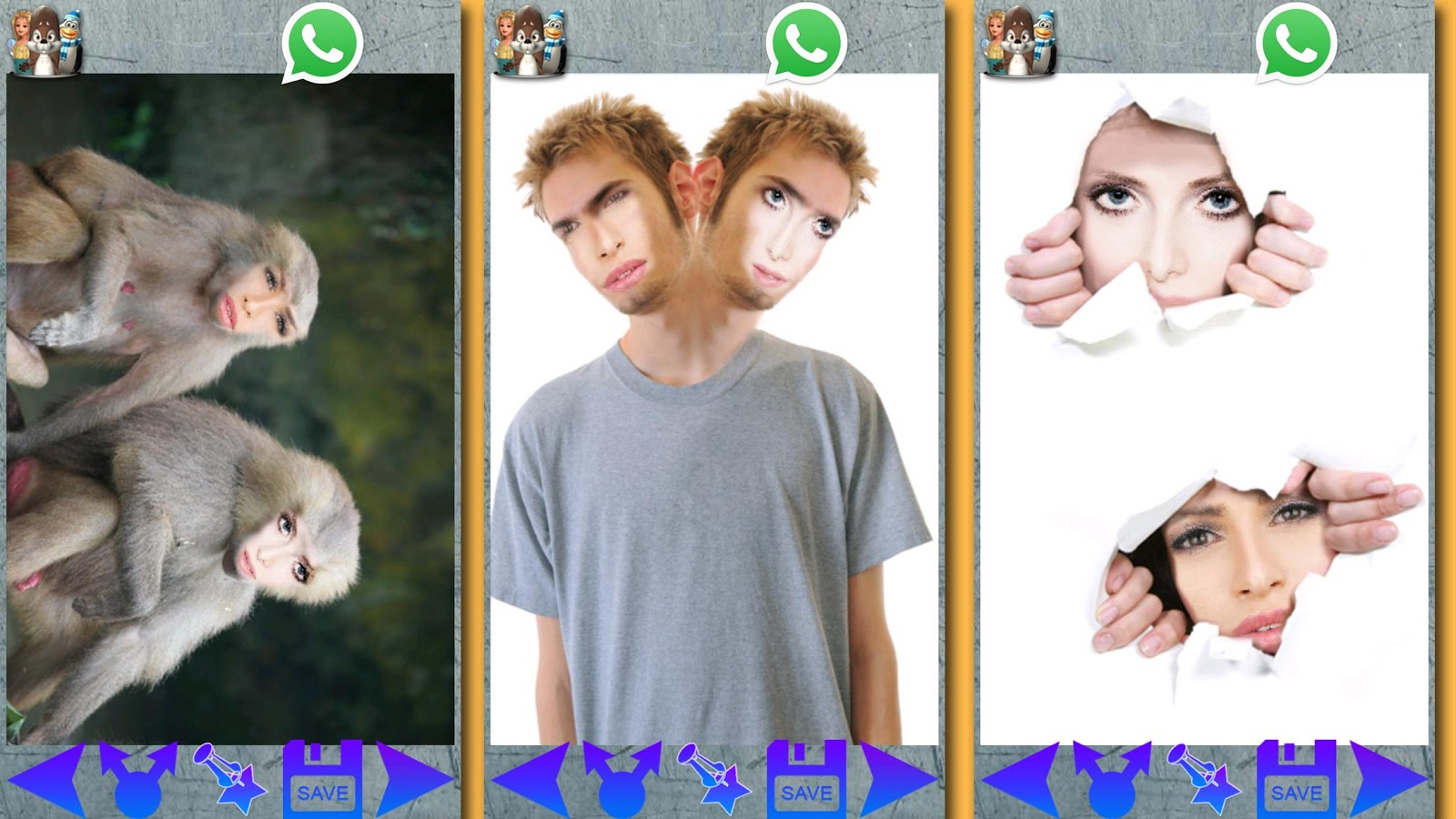Funny Photo Studio - 2 Faces- screenshot