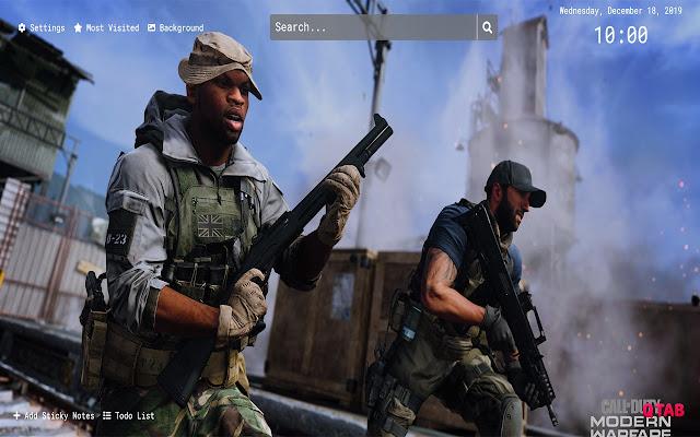 Call Of Duty Modern Warfare 2019 Wallpaper