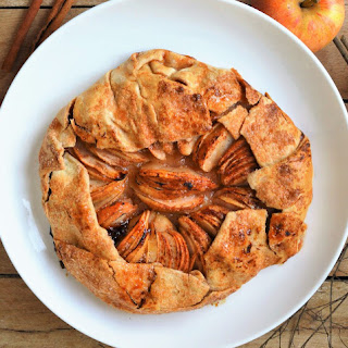Fun And Easy Apple Calvados Galette.