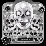 Silver Skull Keyboard Theme Icon