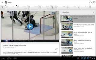 Screenshot of NHL