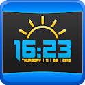 Accurate Weather Digital Clock icon