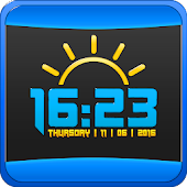 Accurate Weather Digital Clock