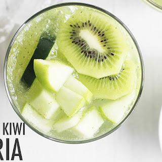 Cucumber Kiwi Sangria