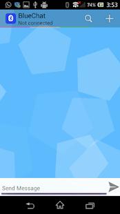 BlueChat - náhled