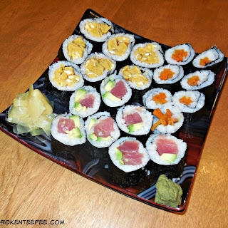 Making Homemade Sushi is Easy with Sushi Quik.