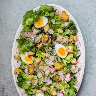 Butter Leaf Lettuce Salad with a Lemon Dill Dressing Recipe