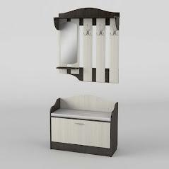 Прихожая №1 мебель разработана и произведена Фабрикой Тиса мебель