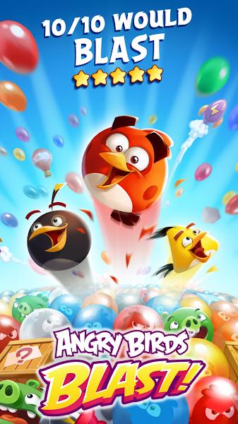 Angry Birds Blast v1.4.4 [Mod]