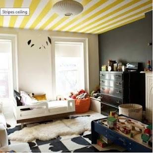 Moderní domácí stropní design - náhled