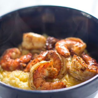 Parmesan Polenta With Chipotle Shrimp