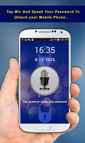 android Voice Screen Lock Screenshot 3