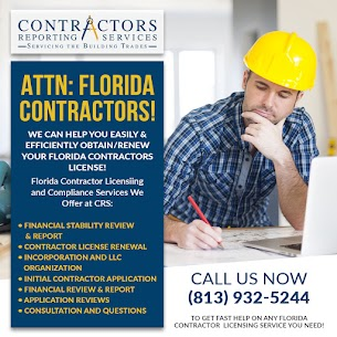 Tampa FL Contractors License