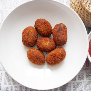 Beef Cutlets (Kerala Style)...step by step.