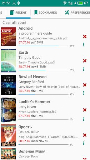 PRO Lirbi Reader: PDF, eBooks v5.7.20