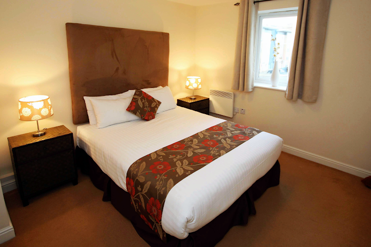 Bedroom at Knightsbridge Court PU