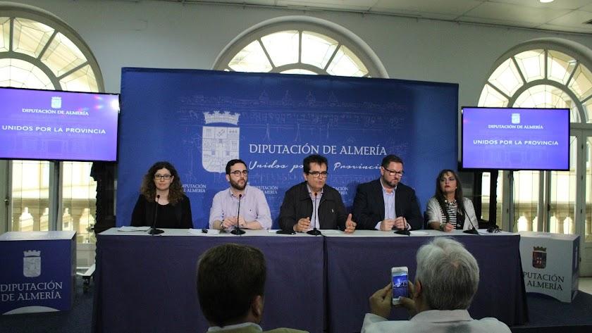 Presentación del Festival en el Palacio Provincial.