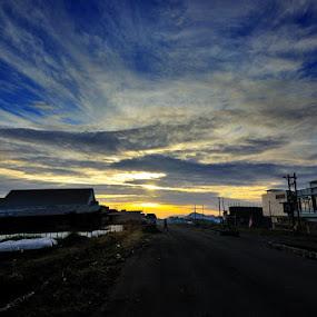 Bener Meriah Sunrise by Taufiqurrahman Setiawan - City,  Street & Park  Vistas