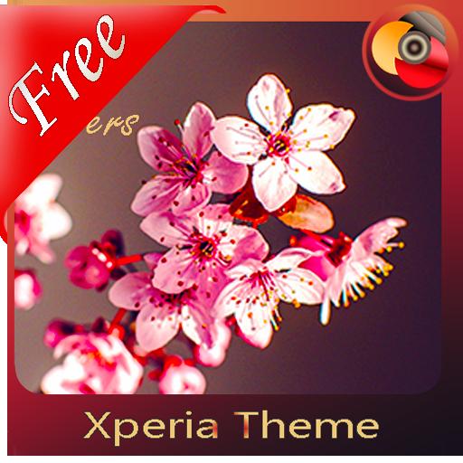 Spring flowers | Xperia™ Theme