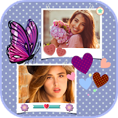 Photo Collage Pics Frame: Art Layout Dual Maker