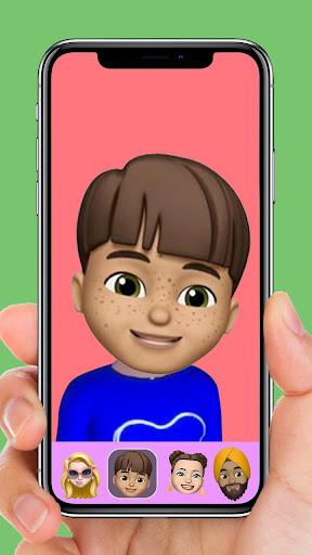 MEMOJI AR Avatar S9 Sprites + Animoji for phone X  screenshots 5