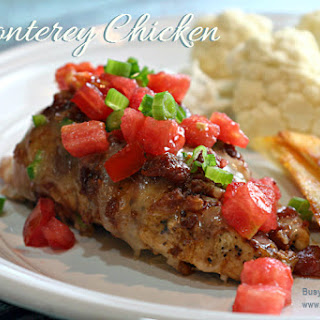 Monterey Chicken and Home Fries