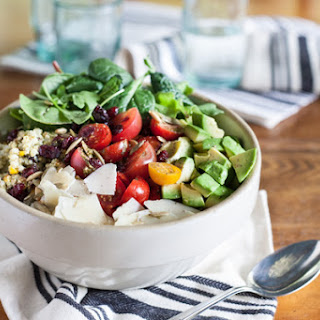 Israeli Couscous Pesto Salad