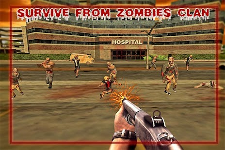 Police Driver Zombie Shooter screenshot