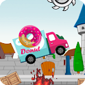 Donut Truck racing game icon