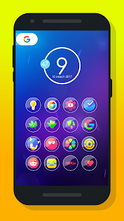 Rarent - Icon Pack Aplicaciones para Android screenshot