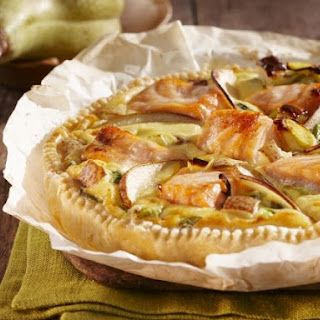 Fruit and Salmon Pie