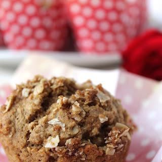Cinnamon Applesauce Oat Muffins Recipe
