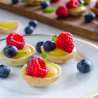 Bite Sized Lemon Tarts