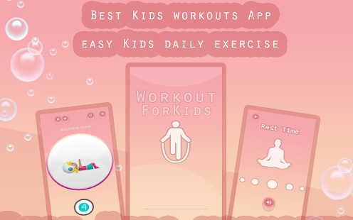 Download Workout for Kids : Make Home Fitness exercices Fun For PC Windows and Mac apk screenshot 7