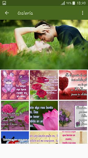 Piropos para Enamorar con imu00e1genes de amor screenshots 1