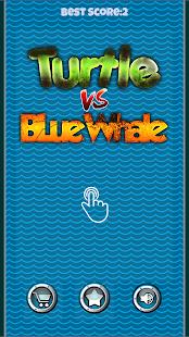 Blue whale VS Turtle Challenge - náhled