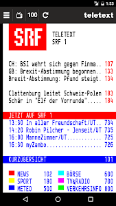 TELETEXT (mobile Website) screenshot 0