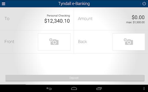Tyndall e-Banking- screenshot thumbnail