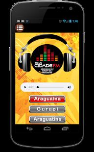 Rede Cidade FM screenshot
