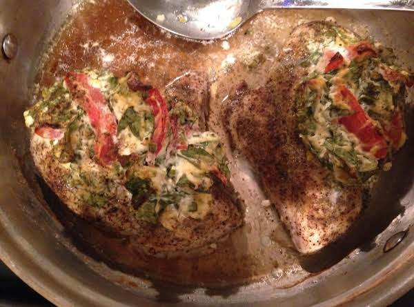 Stuffed My Way Chicken Breast Recipe