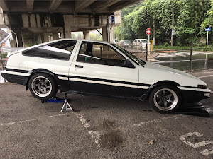 スプリンタートレノ AE86 81年 GT APEXのカスタム事例画像 さくさんの2018年10月24日00:29の投稿