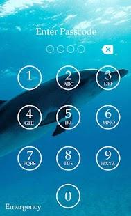 Dolphin Keypad Screen Lock screenshot