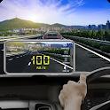 Speedometer DigiHUD View- Speed Cam & Widgets icon