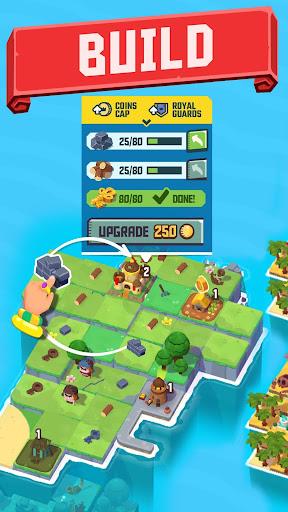 Merge Stories - Merge, Build and Raid Kingdoms! apklade screenshots 2