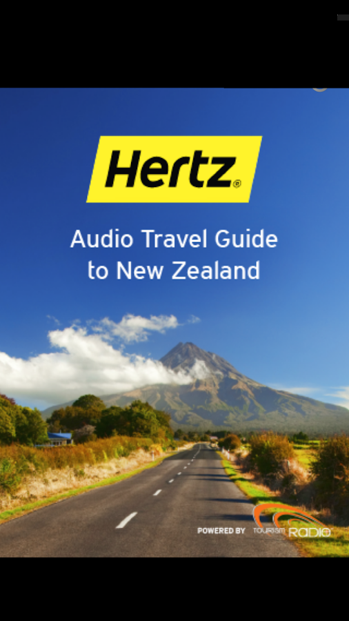 Hertz New Zealand Travel Guide- screenshot
